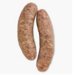 1.25# Fresh German Bratwurst (4)