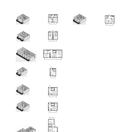 Apartment Types for NyhemByggsystem