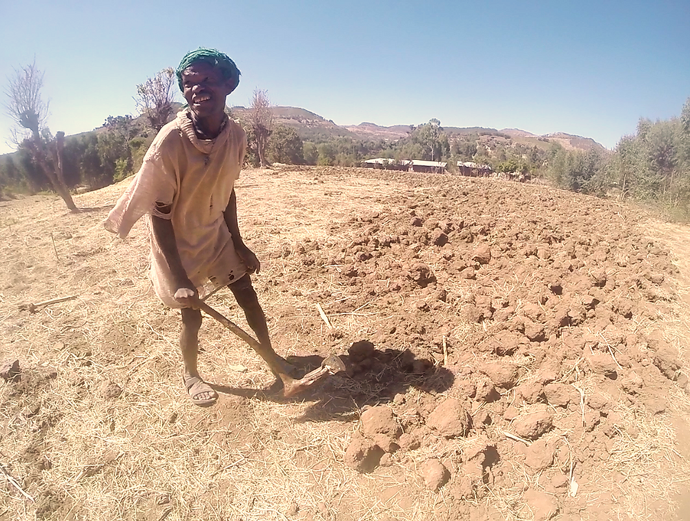Salomon, a farmer of Gondar