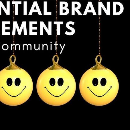 Influential Brand Elements: Community