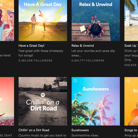 Playlists Are the Future and the Future Is Now