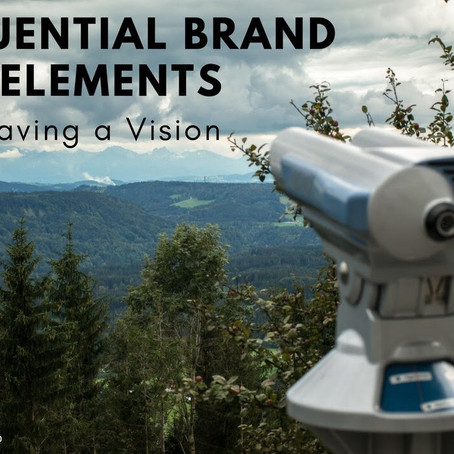 Influential Brand Elements: Vision