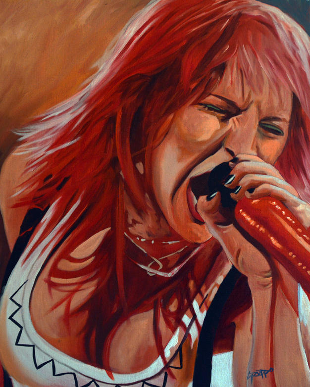 Hayley Williams Portrait
