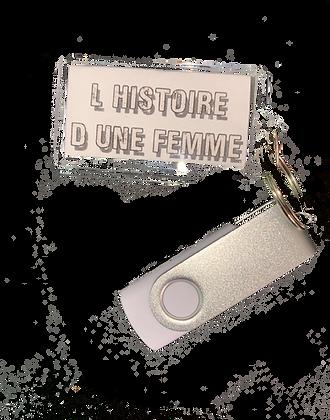 clé USB L'Histoire d'une femme