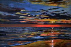 Reeds Beach NJ Abstract