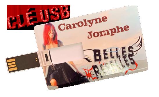 Clé USB album BELLES REBELLES 2020