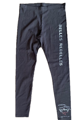 Leggins noir  Collection exclusive-Belles Rebelles