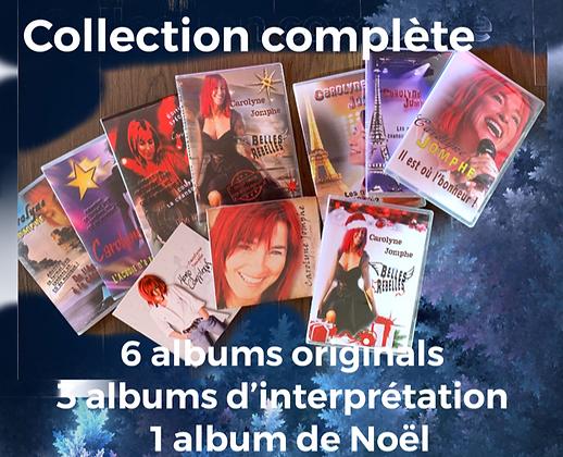 Clé USB - Collection complète 10 albums