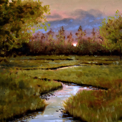 Winding Creek 12x16_ - Oil on Canvas.jpg