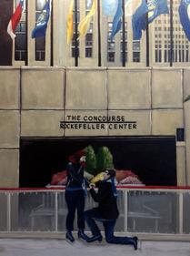 The Proposal at Rockefeller Center