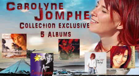 CLÉ USB 6 albums originals de Carolyne Jomphe