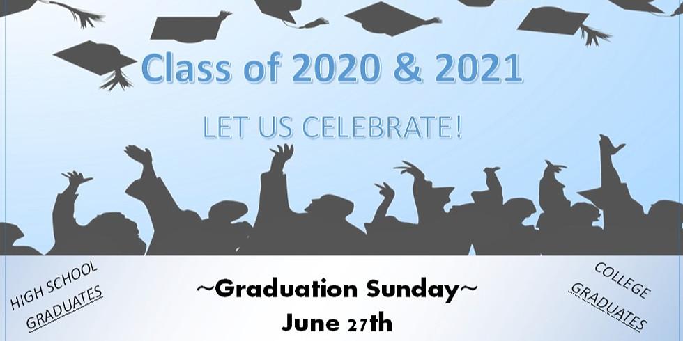 Class of 2020 & 2021 Graduation Recognition