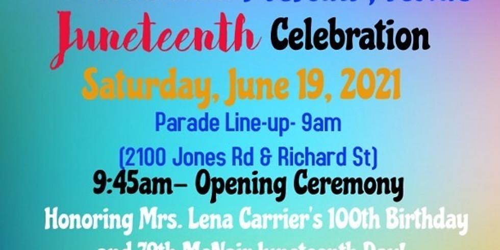 79th Annual McNair, TX Juneteenth Celebration