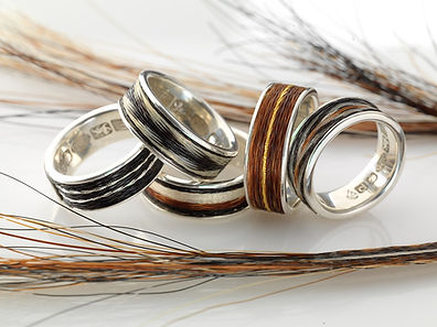 5 Woven Rings