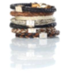 The Burnished Horse horse hair bracelets