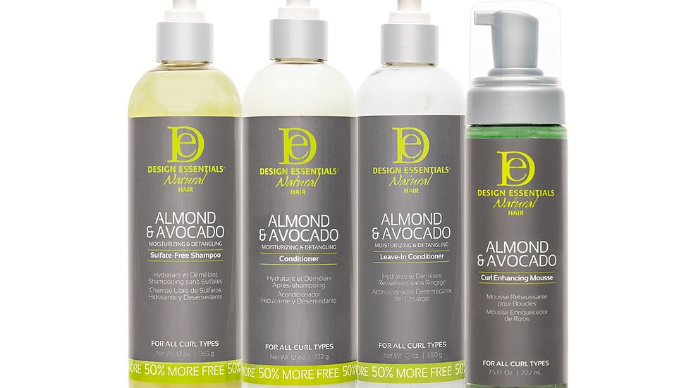 Design Essentials Almond and Avocado Quick Curl Package