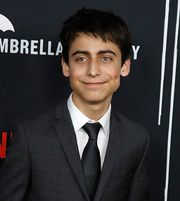 The Umbrella Academy's Aidan Gallagher (Number Five) Hargreeves