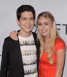 Joshua Rush & Emily Skinner