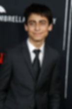 The Umbrella Academy's Aidan Gallagher (Number Five / Hargreeves)
