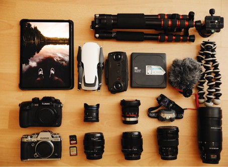 What's in my Camera Bag/ Travel Edition