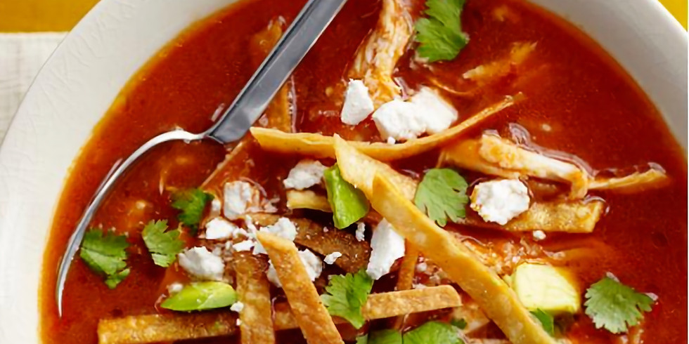Warm Up With Soups & A Hot Topic - Next Step with Andrea Pollock