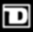 TD logo white