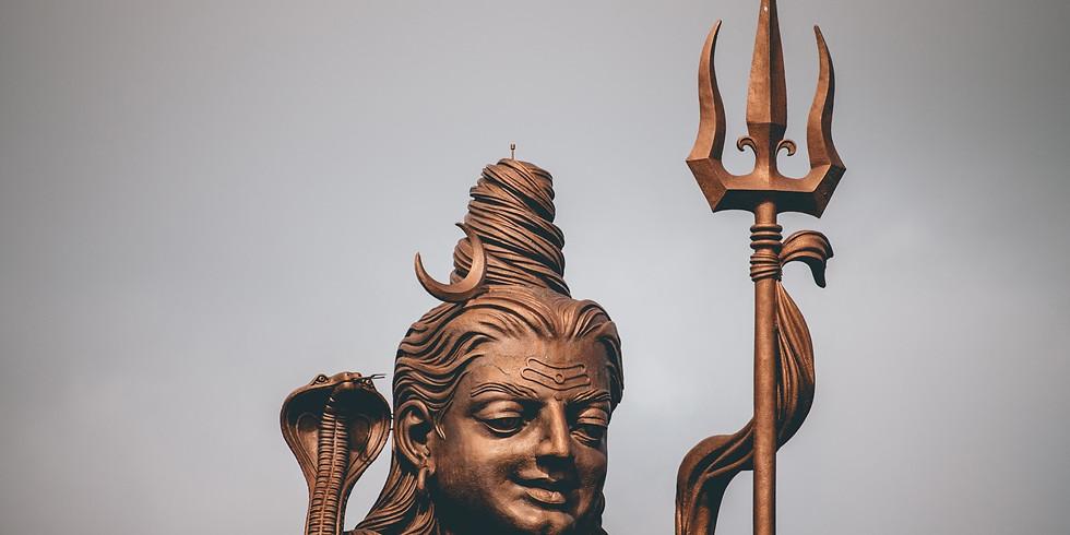 Čakra jóga, Tanec boha Šivy