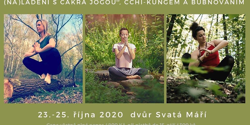 Víkend s čakra jógou, čchi-kungem a bubnováním