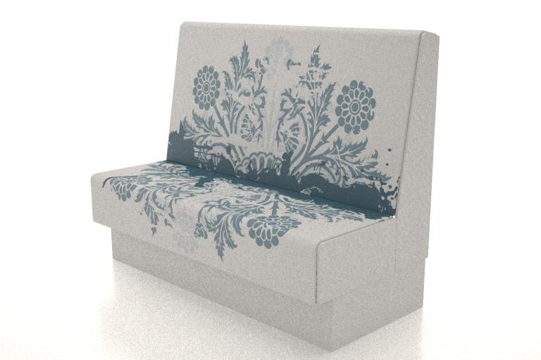 FLORAL BLUE - Printed