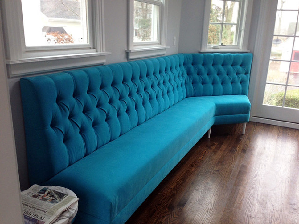 Marvelous Deep Buttoned Seating