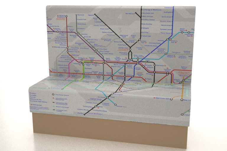 TUBE MAP - Printed