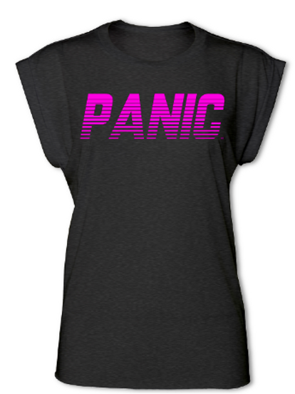 PANIC Womens Cuffed Tees