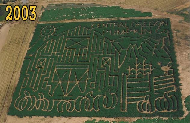 Central Oregon Pumpkin Co. 2003