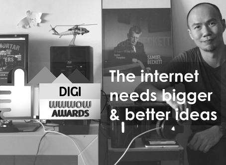 The Internet Needs Bigger & Better Ideas