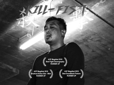 Kill-Fist in Action on Film Megafest 2019