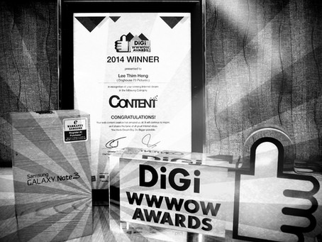 DiGi WWWOW Internet Award Winner