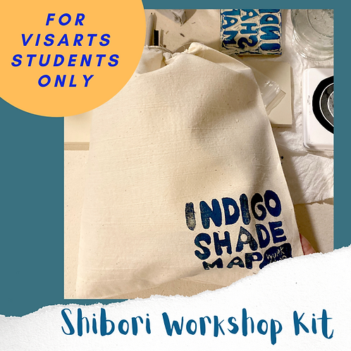 Visarts Workshop Kits: A Shibori Class for February