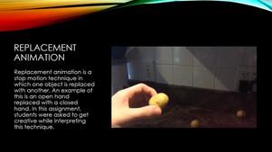 Animation PowerPoint for Website - Slide