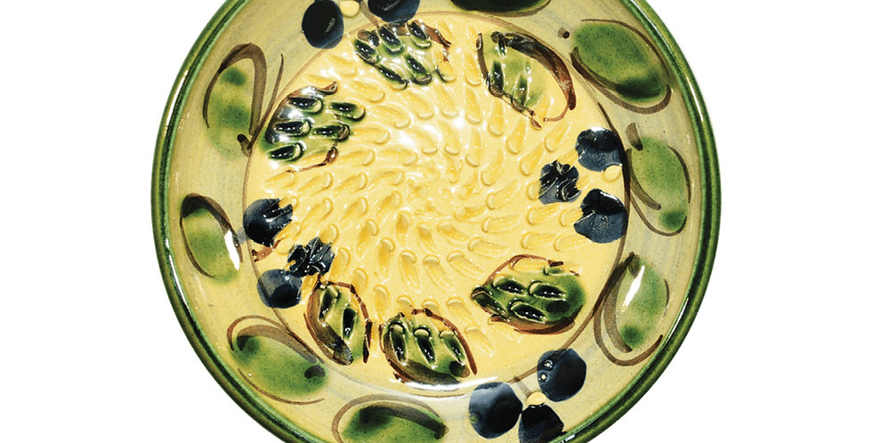 Green Olive Grater Plate