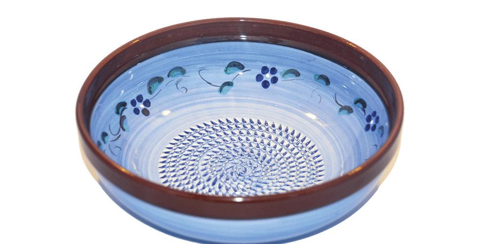 Blue Lavender Grater Bowl