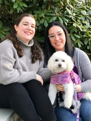 Elspeth, Sam, and Roxie