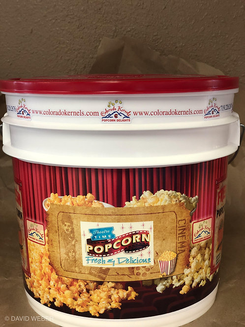 Movie Time Delight Popcorn Bucket