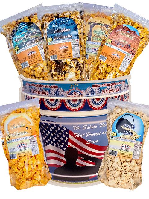 American Patriot Delight Popcorn Bucket