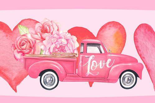 Love Your Valentine Savory/Delight Popcorn Bucket