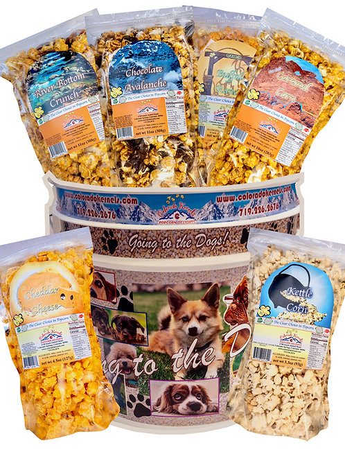 Going to the Dogs Delight Popcorn Bucket