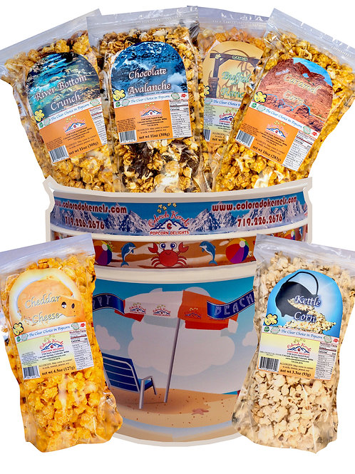 Summer Fun Savory/Delight Popcorn Bucket