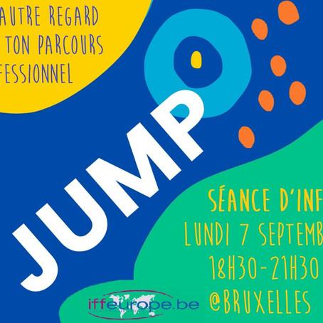 Le 7 septembre : séance d'info sur le parcours JUMP