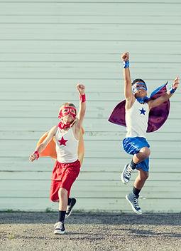 деца и супергерои, добро или лошо дете