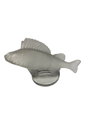 1970s French Lalique Fish Figurine