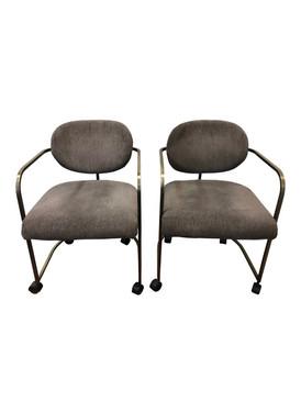 1970s Vintage Institute of America Chairs - Pair
